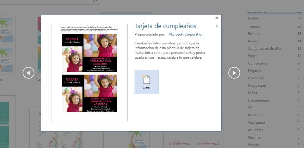 Cómo crear tarjetas de invitación en Microsoft Word