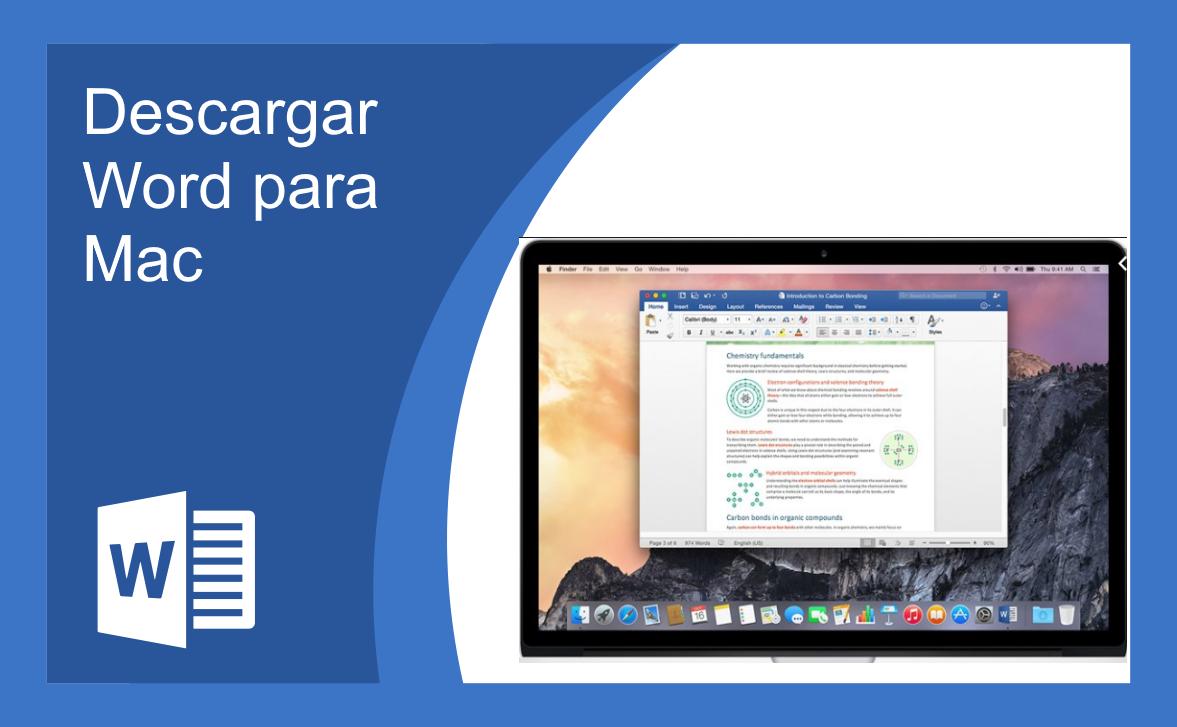 Descargar Word para Mac