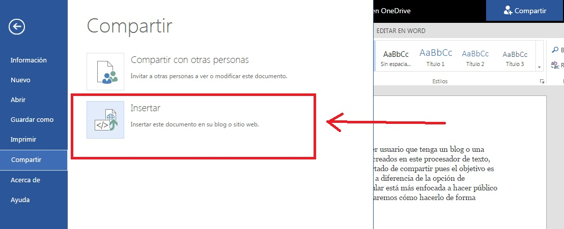 Configurar guardado automático de documentos en Microsoft Word