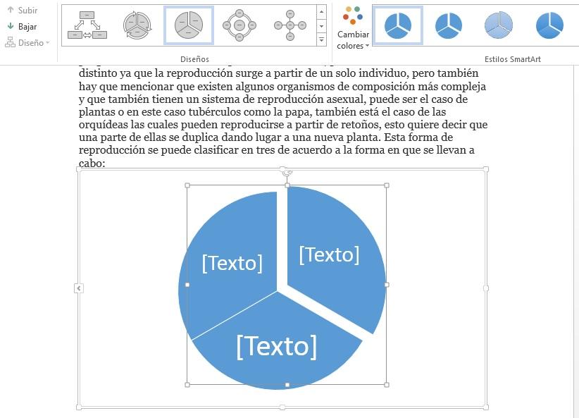 Insertar cuadros de texto en documentos de MS Word