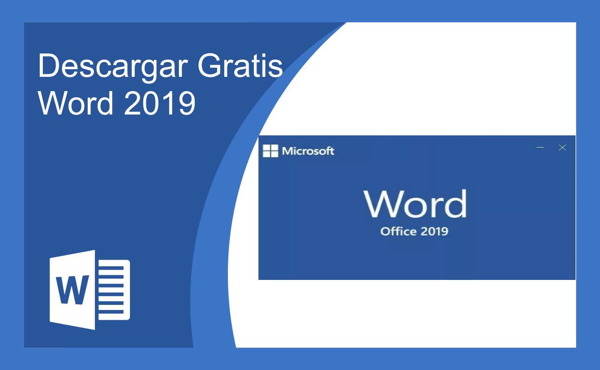 Descargar Gratis Word 2019