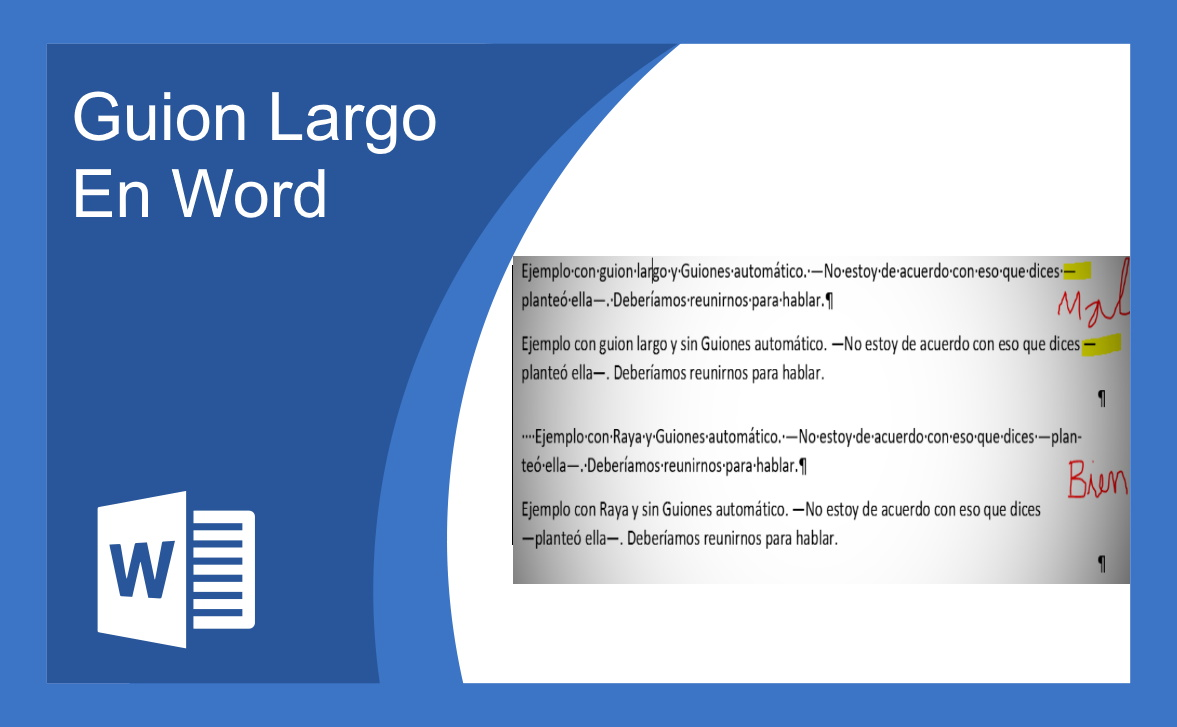 Guion Largo En Word