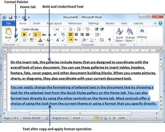 Copy Format Text