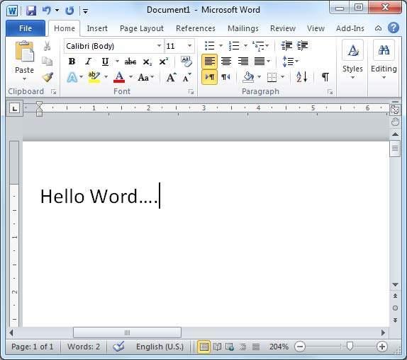 Hello Word